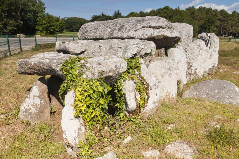 Carnac Brittany France photos libres de droits