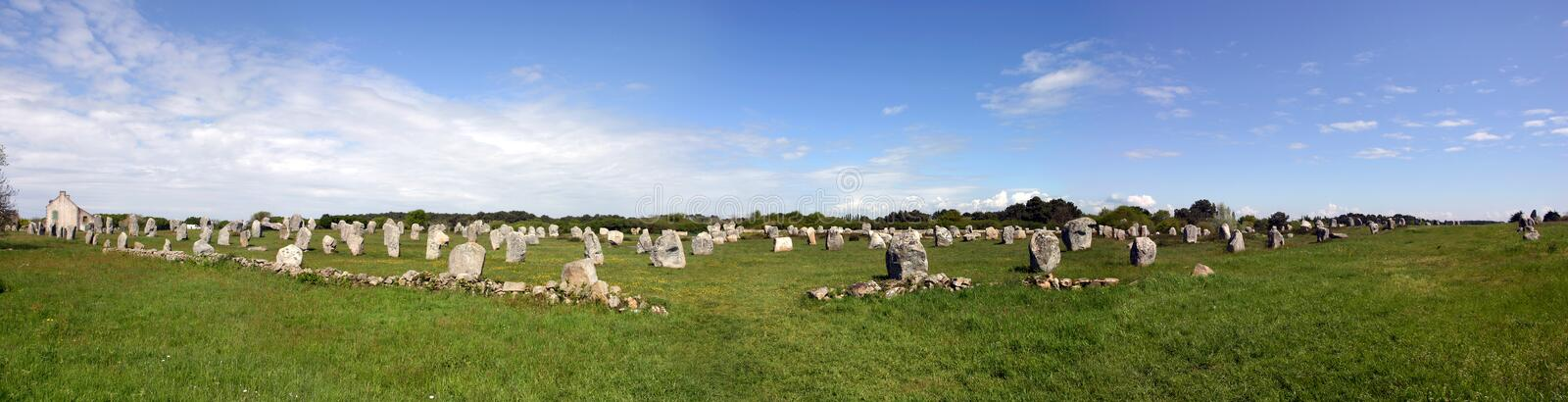 Carnac site royalty free stock images