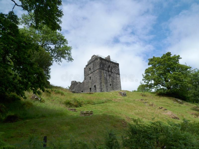 Carnasserie Castle royalty free stock images