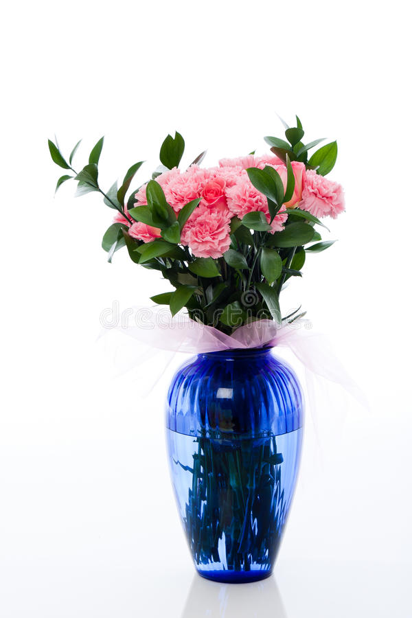 Download Carnations stock image. Image of bouquet, nature, greenery - 16975359