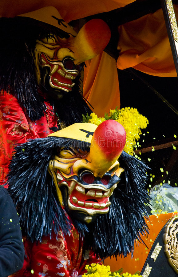 Carnaval à Bâle image stock