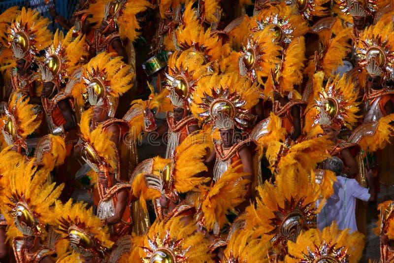 Carnaval à Rio photographie stock libre de droits