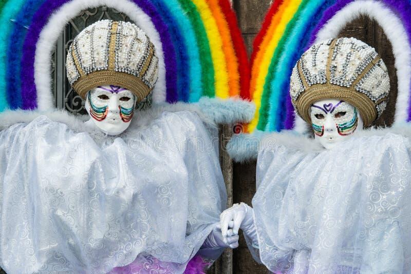 Carnaval à Venise l'Italie photo libre de droits