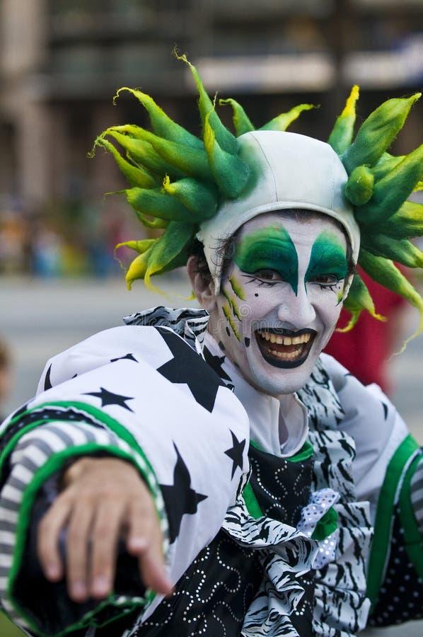 carnaval Μοντεβίδεο στοκ εικόνες