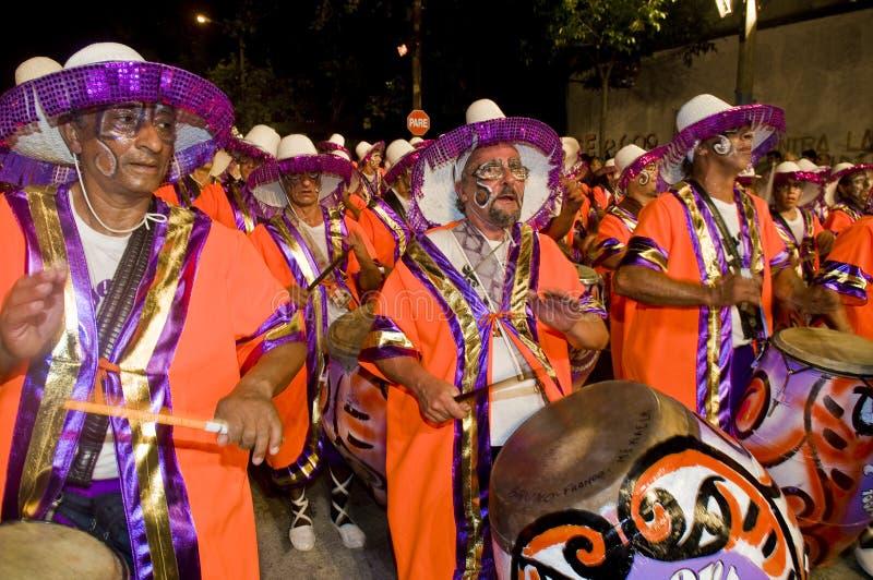 carnaval Μοντεβίδεο στοκ φωτογραφίες
