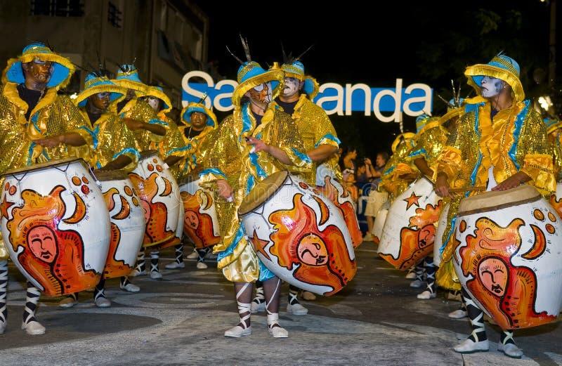 carnaval Μοντεβίδεο στοκ εικόνες με δικαίωμα ελεύθερης χρήσης