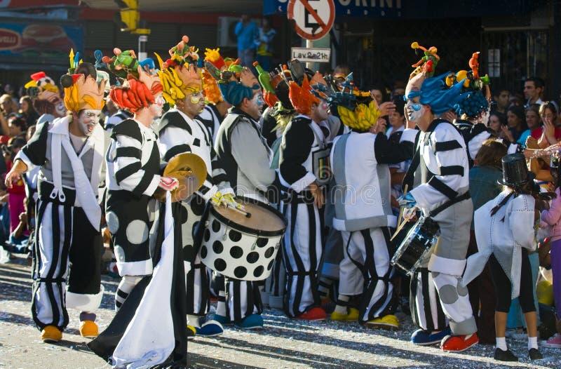 carnaval Μοντεβίδεο στοκ φωτογραφία