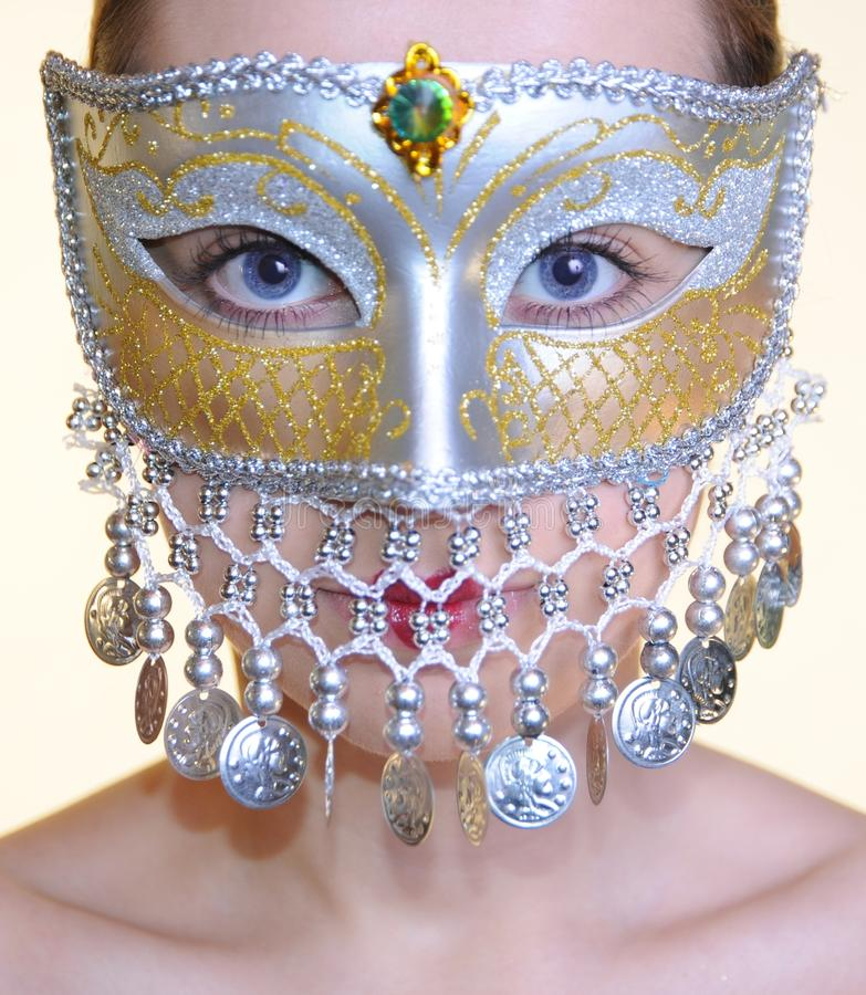 carnaval девушка стоковые изображения rf