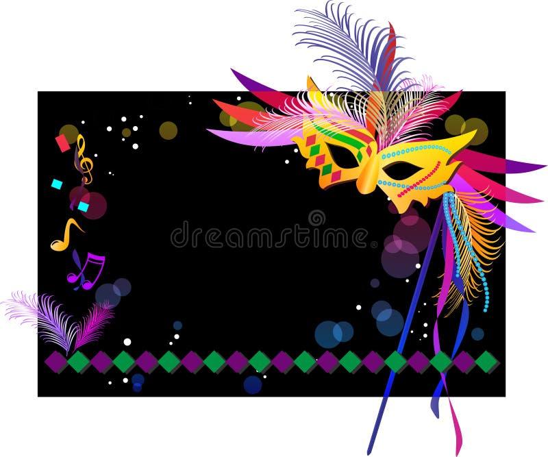 Carnaval ilustração royalty free