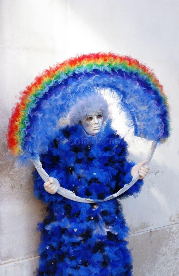 Carnaval 2010 de Venecia imagenes de archivo