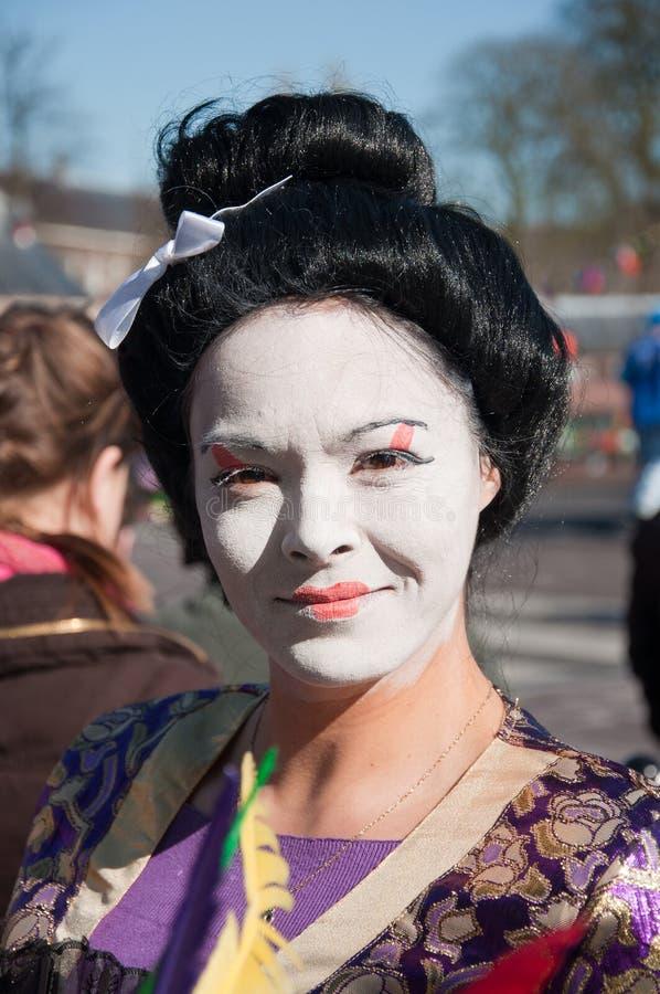 Carnaval 2011 à Breda (Hollandes) image libre de droits