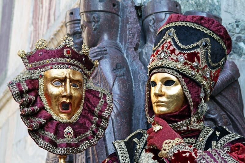 Carnaval 2011 de Veneza - máscara fotos de stock