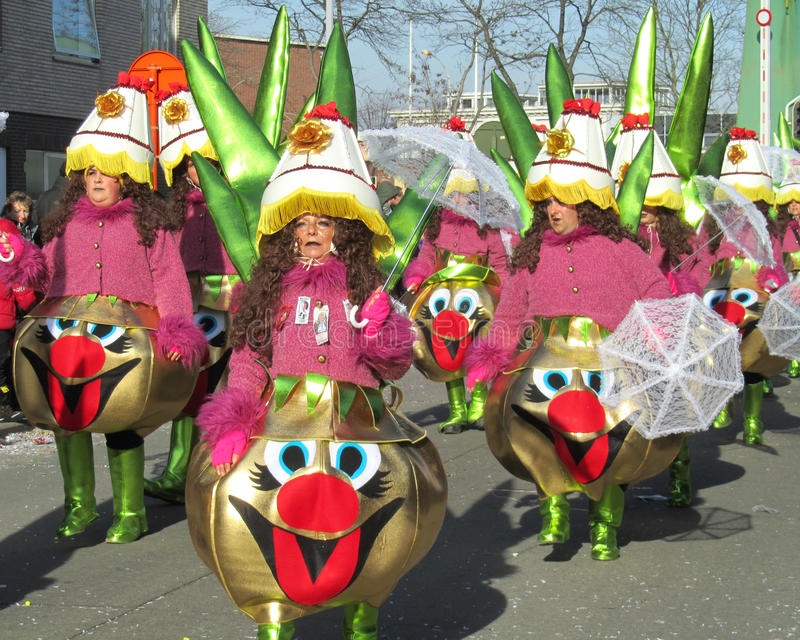 Carnaval 2012 de Aalst imagen de archivo libre de regalías