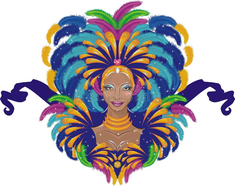 Carnaval ilustração stock