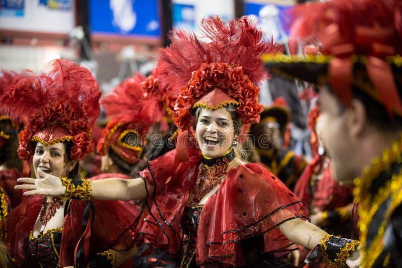 Carnaval 2014 fotografía de archivo