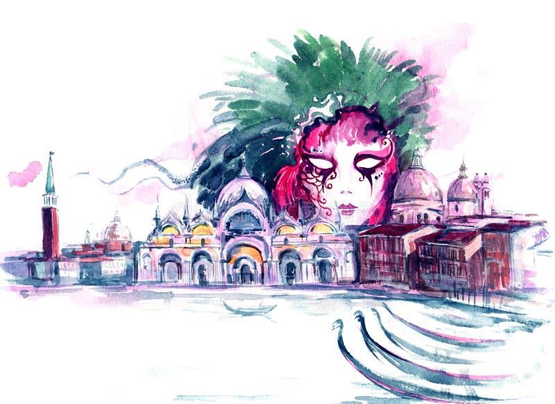 Carnaval illustration de vecteur