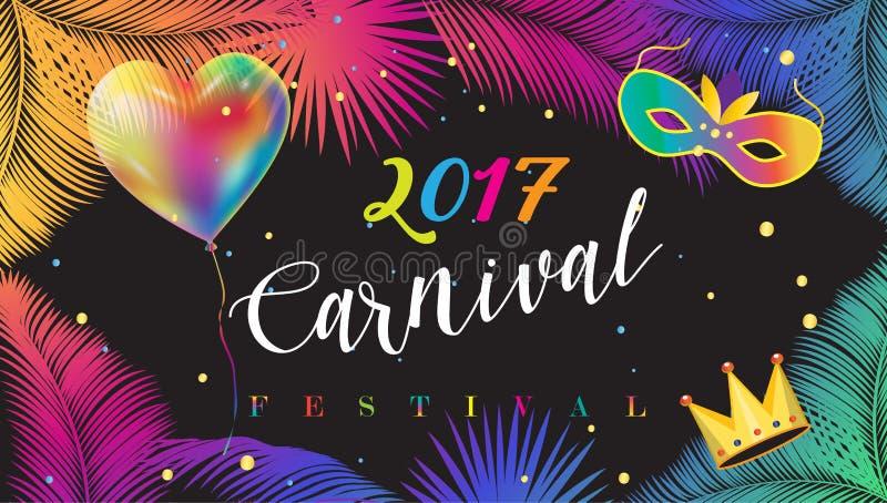 Carnaval vector illustratie