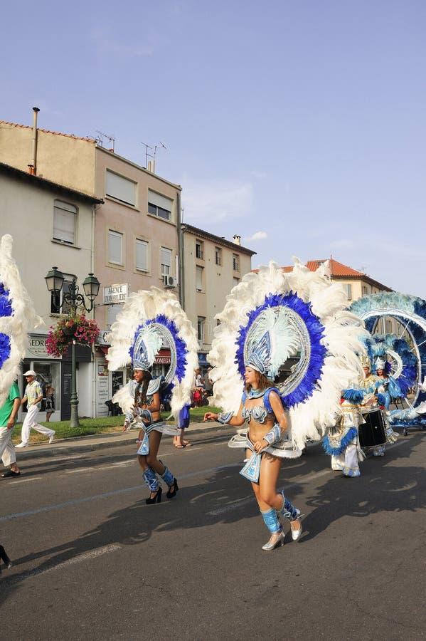 Carnaval Alès images stock