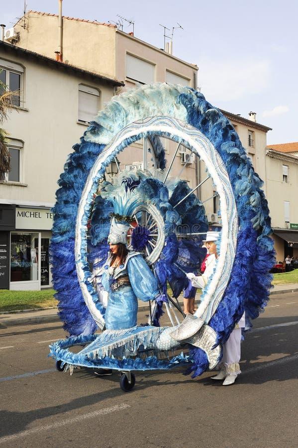 Carnaval Alès photos libres de droits
