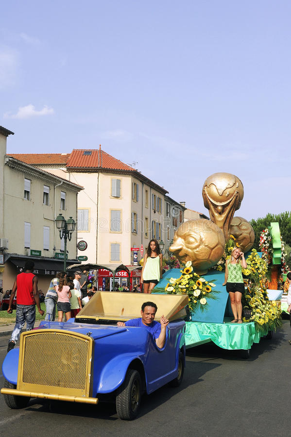Carnaval Alès photo stock