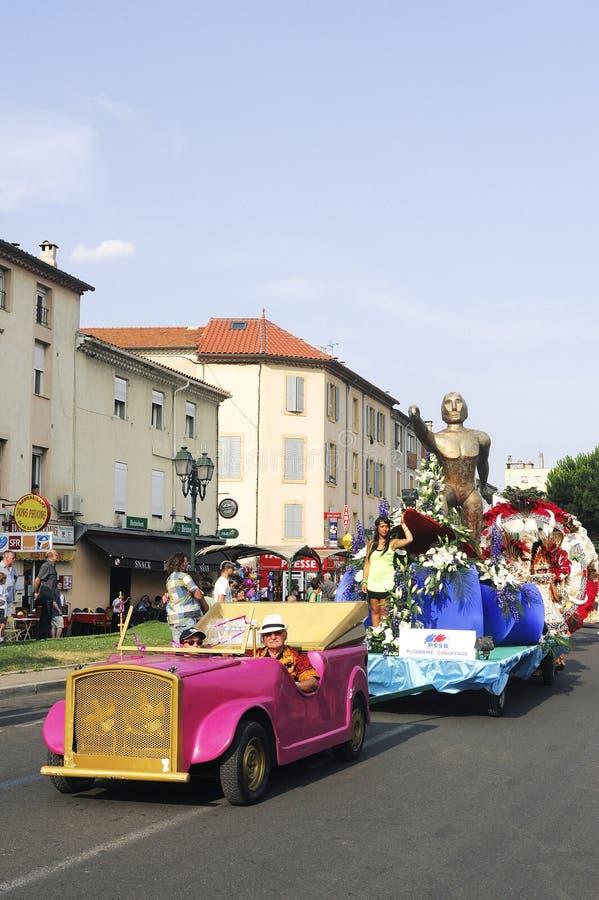 Carnaval Alés imágenes de archivo libres de regalías