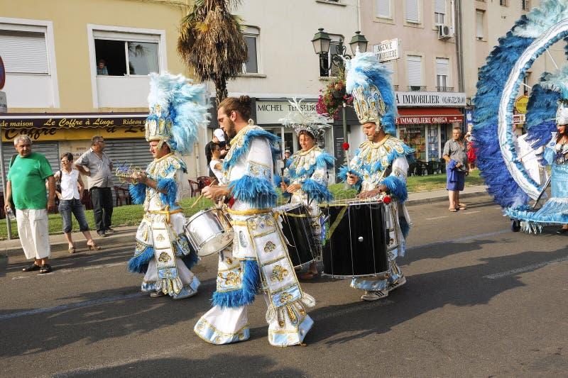 Carnaval Alés imagen de archivo