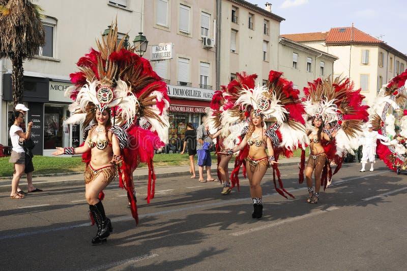 Carnaval Alés fotos de archivo