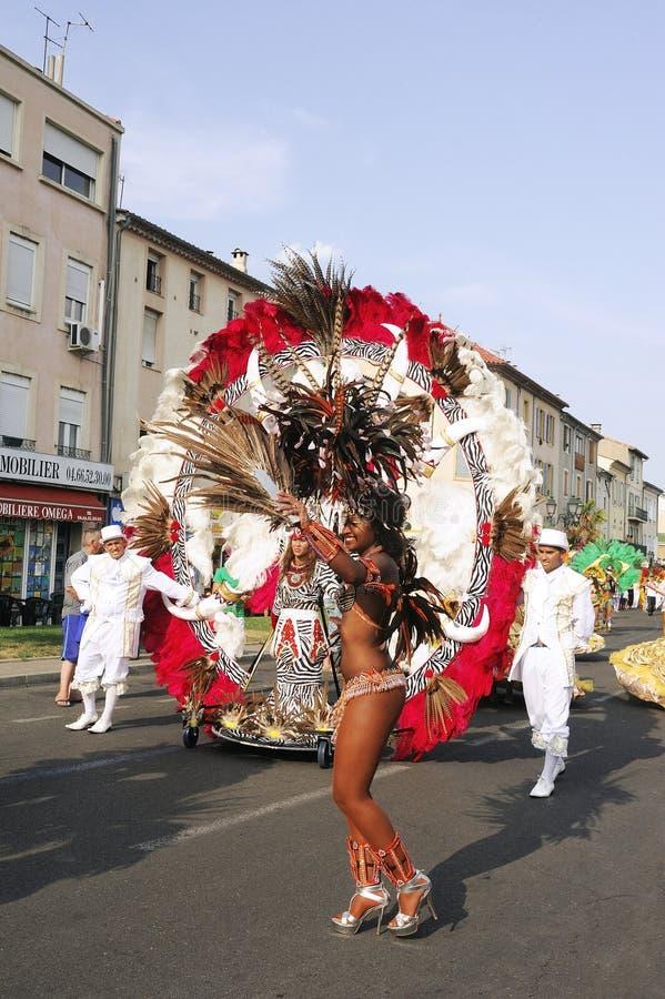Carnaval Alés imagenes de archivo