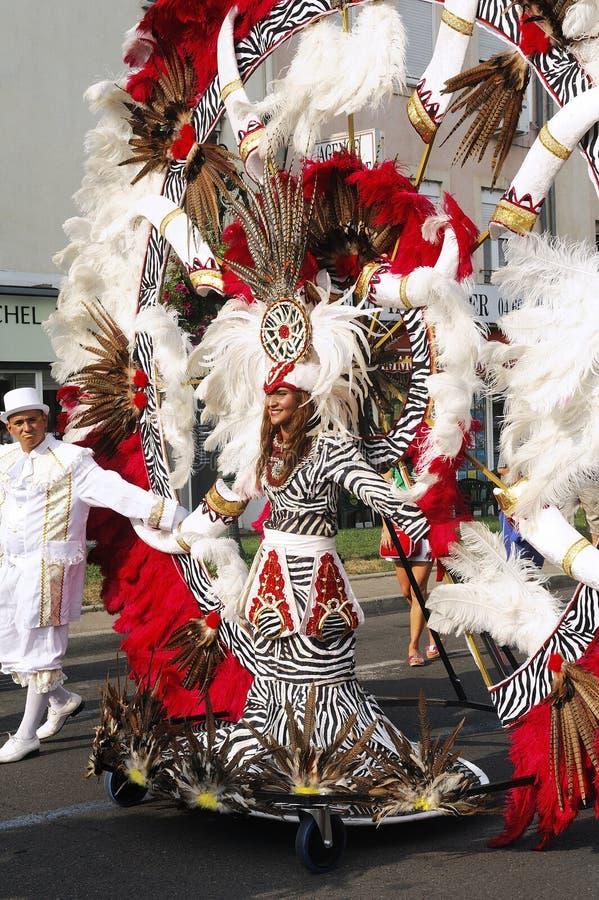 Carnaval Alés fotografía de archivo libre de regalías
