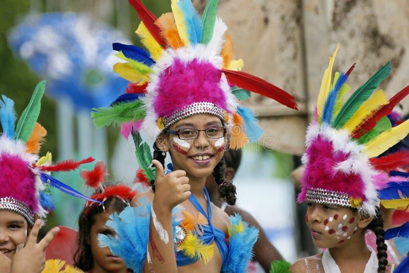 Carnaval anual Francés de la Guayana imagen de archivo