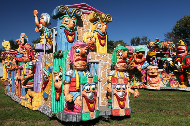 Carnaval-auto's royalty-vrije stock fotografie
