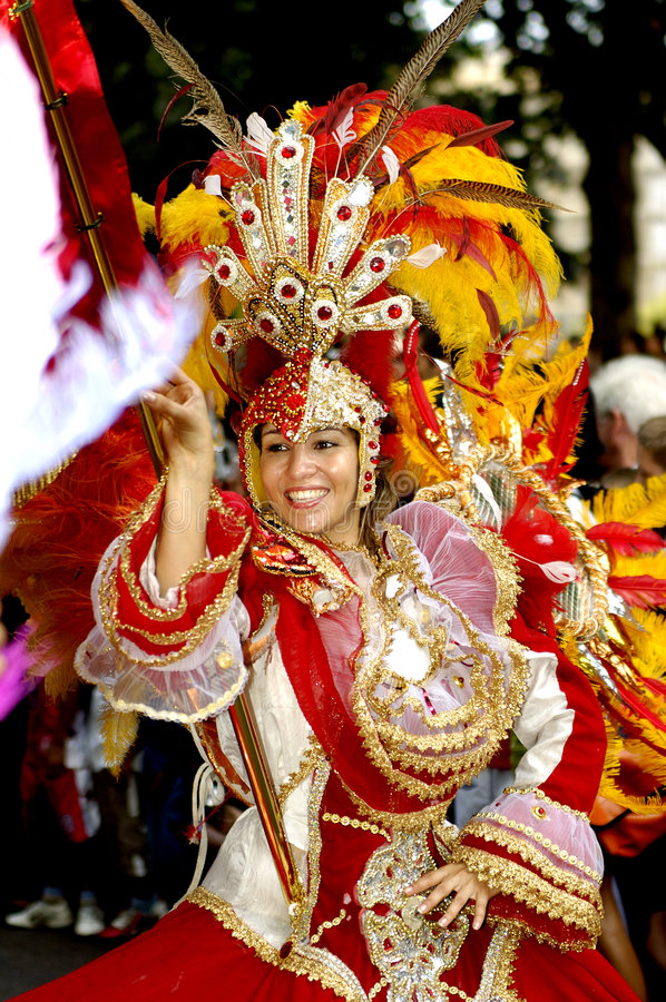 Carnaval brasileño. fotos de archivo