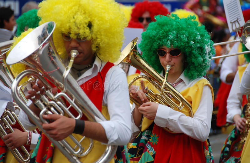 Carnaval, Chypre image stock