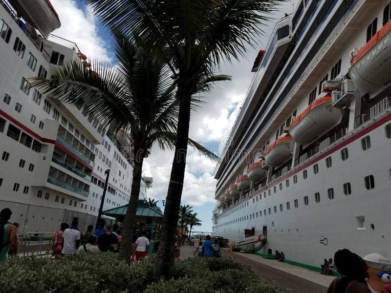 Carnaval-Cruise 2018 stock foto