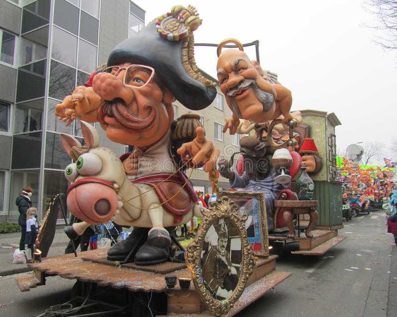 Carnaval 2015 d'Aalst photographie stock