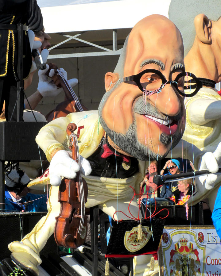 Carnaval 2015 d'Aalst photo stock