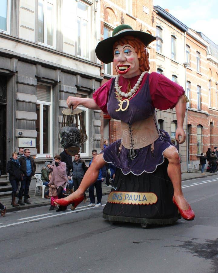 Carnaval d'Aalst de géant image libre de droits