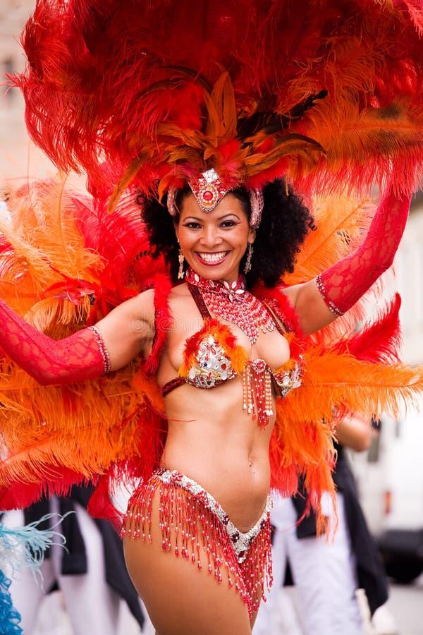 Carnaval da samba em Coburg 3 fotos de stock royalty free