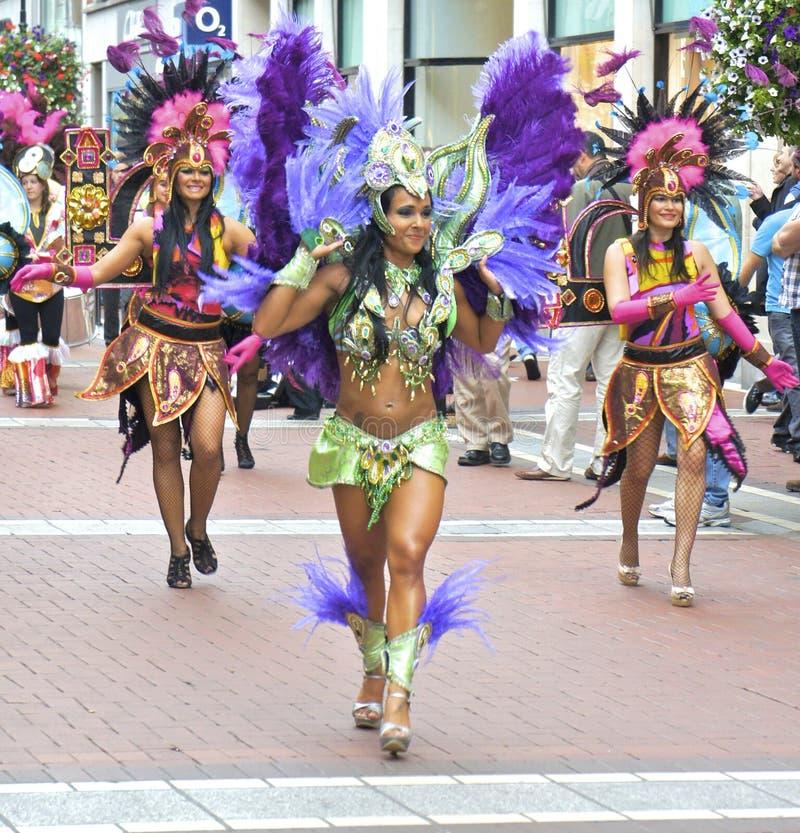 Carnaval-Dansers royalty-vrije stock foto's