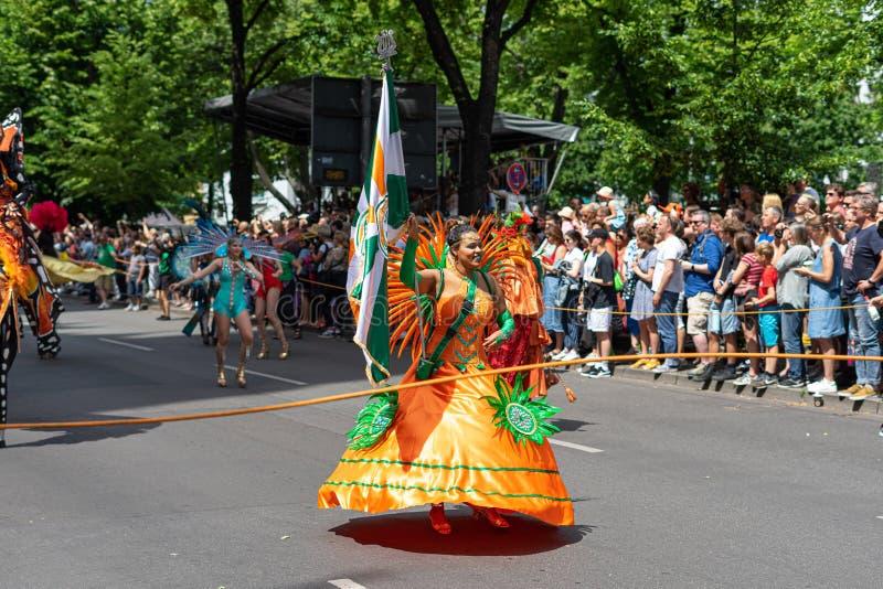 Carnaval das culturas berlim germany imagem de stock