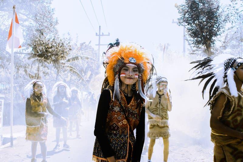 Carnaval de Astec imagem de stock royalty free