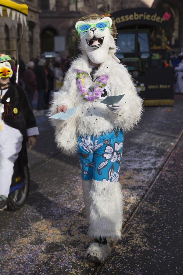 Carnaval 2015 11 de Bâle image libre de droits