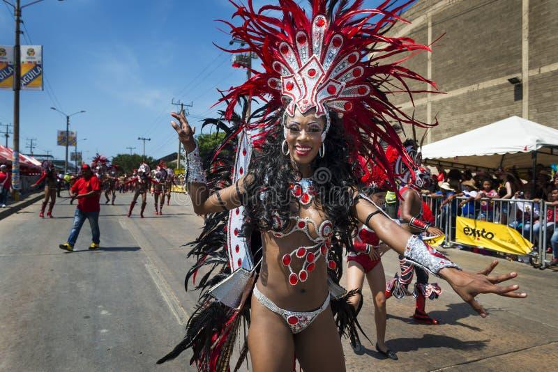 Carnaval de Barranquilla, en Colombie photos stock