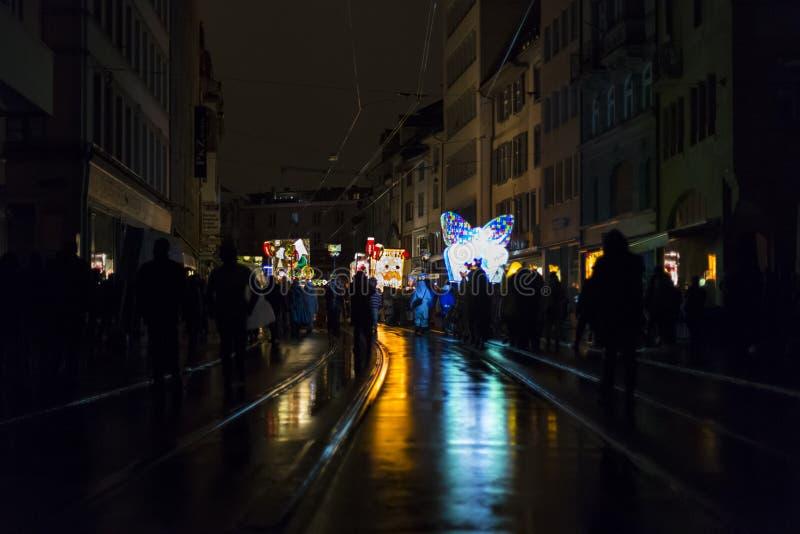 Carnaval 2017 de Basileia imagem de stock