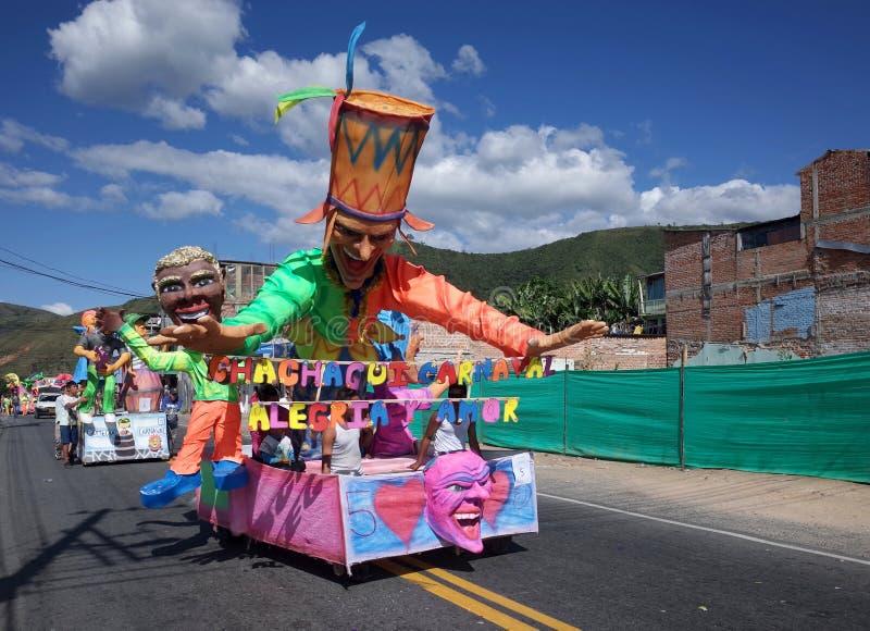 Carnaval de Blancos y Negros fotografia de stock royalty free