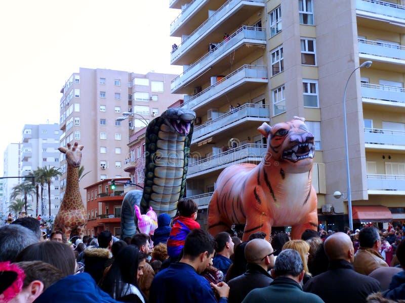 Carnaval de Cadiz 2017 andalusia spain fotos de stock