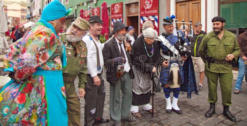 Carnaval 2015 de Gran Canaria imagens de stock