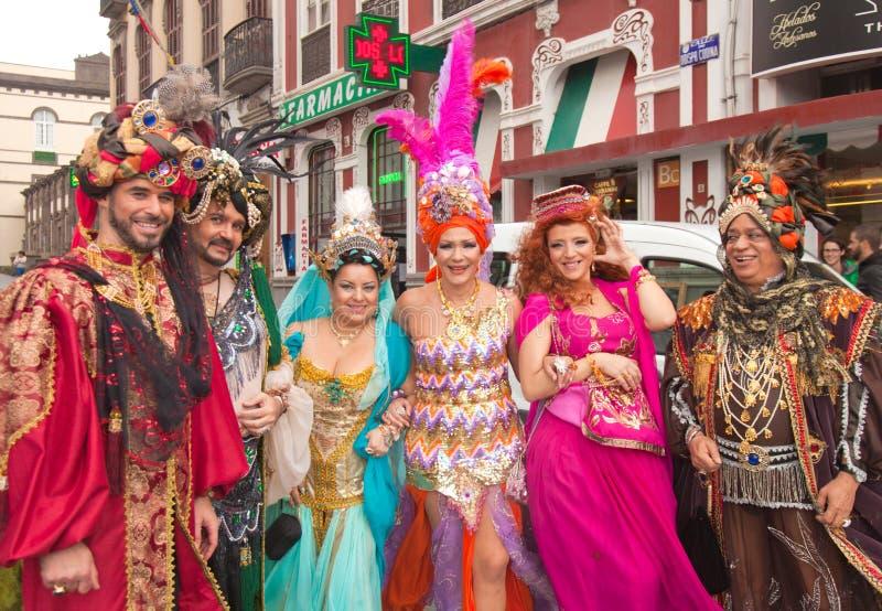 Carnaval 2015 de Gran Canaria foto de stock royalty free