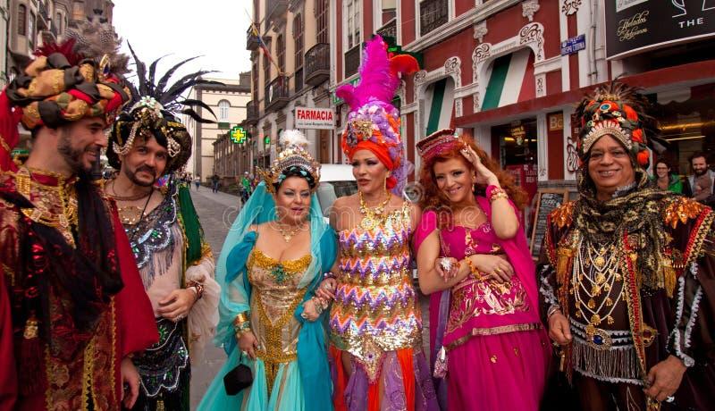 Carnaval 2015 de Gran Canaria fotografia de stock royalty free