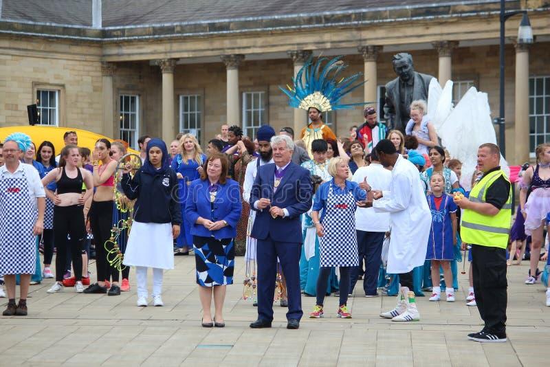 Carnaval de Huddersfield imagens de stock